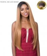 It's a wig Human Hair Blend All Round Deep Lace Front Wig - FRONTAL 360 LACE BARBIE