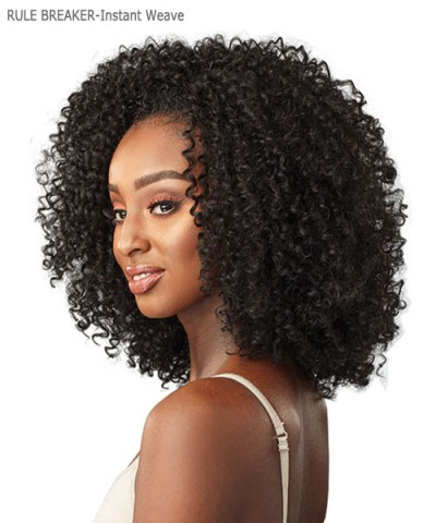 Sensationnel  Synthetic Half Wig  Instant Weave Curls Kinks & Co - RULE BREAKER