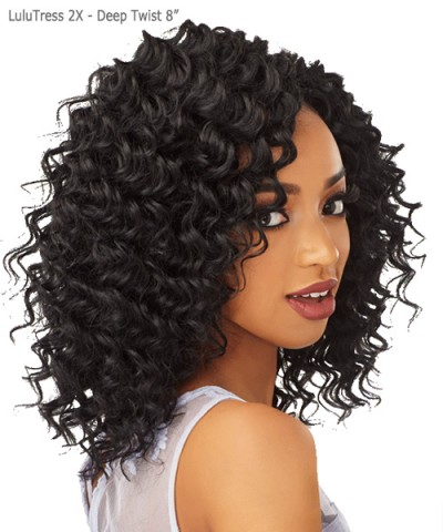 Sensationnel  Synthetic Braid - Lulutress 2X  Deep Twist 8""