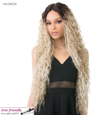 It's a wig Synthetic IRON FRIENDLY Full Wig - VALENCIA