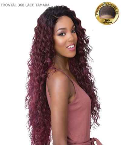 It's a wig Human Hair Blend All Round Deep Lace Lace Front Wig - FRONTAL 360 LACE TAMARA