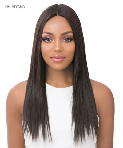 "It's a wig Human Hair 6"" Deep Lace Part Wig - HH AIYANA"