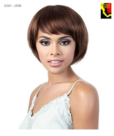 Motown Tress Full Wig - Human Hair GO GIRL GGH-JEMI