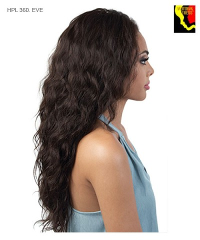 Motown Tress Lace Front Wig Wig - 100% Human Hair HPL 360. EVE