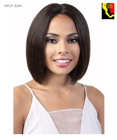 Motown Tress HPLP. SUKI - Human Hair Persian Deep Part Lace Front Wig