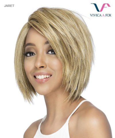 Vivica Fox Synthtic Invisible Side Part Lace Front Wig - JARET