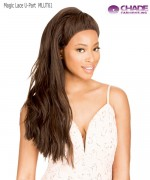 New Born Free Human Hair Blend Magic Lace U-Part & Half Updo 4x4 - MLUT61