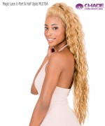 New Born Free Human Hair Blend - Magic Lace U-Part & Half Updo 4x4 MLUT64