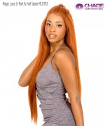 New Born Free Human Hair Blend - Magic Lace U-Part & Half Updo 4x4 MLUT63