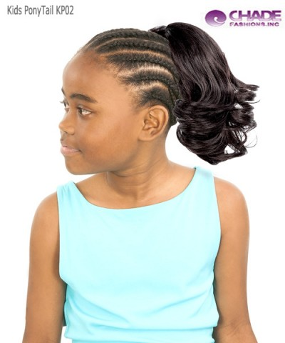 New Born Free Hair Piece - Ponytail KP02
