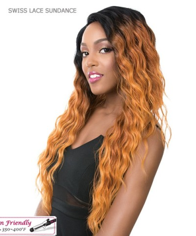 It's a wig Synthetic Futura Lace Front - SWISS LACE SUNDANCE