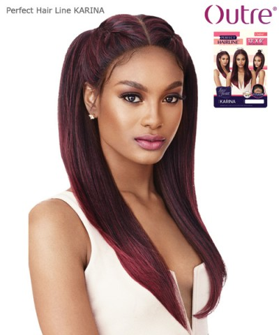 Outre Synthetic  Lace Front 13x6 Perfect Hair Line - KARINA