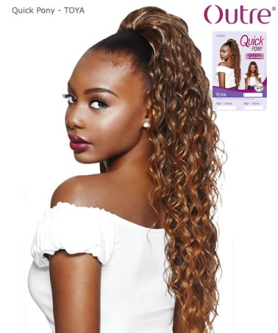 Outre Synthetic Hair Ponytail Quick Pony -TOYA