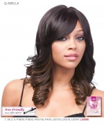 It's a wig Futura Synthetic Quality Full Wig - Q-ABELLA