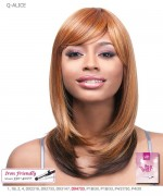 It's a wig Futura Synthetic Quality Full Wig - Q-ALICE