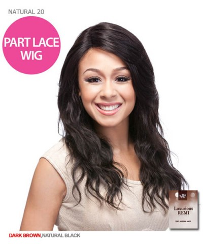 It's a wig Brazillian Hair Part Lace Front Wig - HH NATURAL WAVE 20