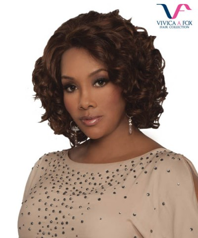 Vivica Fox Lace Wig CHANTE - Remi Human DeeeP Lace Front Wig