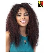Motown Tress Human Hair Blend Deep Part Lace Front Wig - HBLDP. MEL