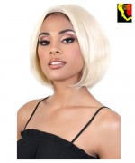 Motown Tress Natural&Blonde 100% Remy Human Hair Lace Deep Part Wig - HNBLP. PAT