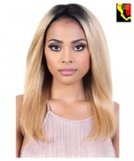 "Motown Tress Persian Virgin Remy 13""x2"" Swiss Lace Front Wig - HPL3.ROME"