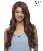 "Vivica Fox Synthetic 27"" layered Lace Front Wig - AIDEN"