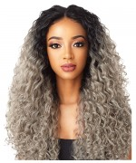 Sensationnel  Synthetic Cloud 9 Vixen Multi Part Swiss Lace Front Wig - DEEP SPIRAL 24
