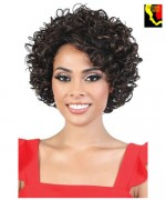 Motown Tress Silver Gray Hair Collection Synthetic  Full Wig - S.TISHA