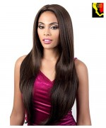 Motown Tress Synthetic Quick N Easy Half Wig  - QE.FAITH