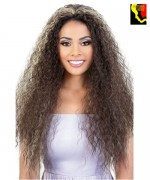 Motown Tress Synthetic Quick N Easy Half Wig - QE-KAMIL