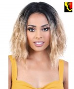 Motown Tress Synthetic Deep Part Swiss Lace Front Wig - LDP. BOSS