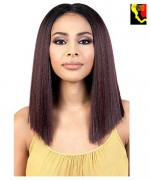 Motown Tress Synthetic Deep Center Part Lace Front Wig - LDP.RUDI