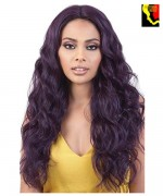 Motown Tress Let's Lace Spin Part Synthetic Wig  - LDP.SPIN42
