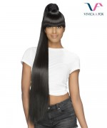 Vivica Fox Synthetic Bang N Pony Ponytail - BP-KATE