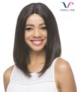Vivica Fox Remi Human Hair Invisible Side Part Lace Front Wig - MINZY