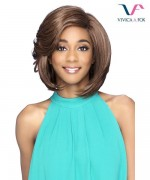 Vivica Fox Synthetic Swiss Lace Lace Front Wig - VENEZIA