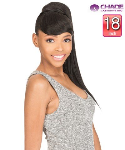 New Born Free Synthetic Ponytail - BANG + PONY STRAIGHT 18""