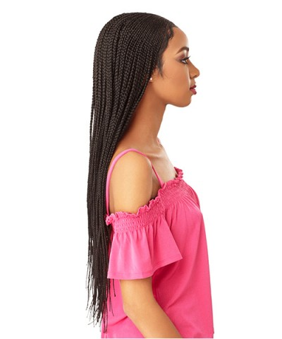 Sensationnel  Synthetic Cloud 9 Hand Braided 13x5 Part Swiss Lace Wig - FULANI CORNROW