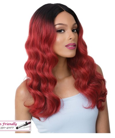 It's a wig Synthetic Lace Center Part  Wig - CAMRYN