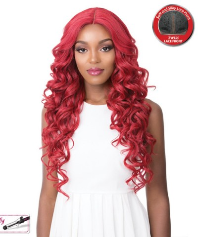 It's a wig Synthetic  Lace Front Wig - SWISS LACE HOUSTON