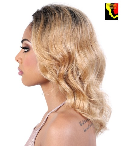 "Motown Tress Persian Virgin Remy 13""x2"" Swiss Lace Front Wig - HPL3.LUX"