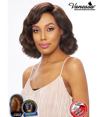 Vanessa Synthetic Reverse C-Part Lace Front Wig - SUPER RC ENTIS