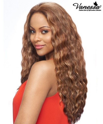 Vanessa Human Hair Blend 360 Full Lace Front Wig - T360HB JENIE