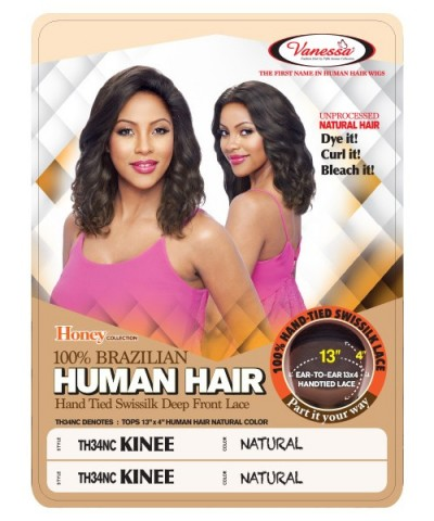 Vanessa 100% Human Hair Honey Collection Full Lace Front Wig - TH34NC KINEE