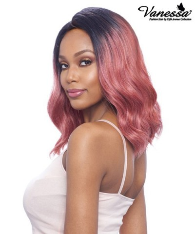 Vanessa Synthetic Middle Lace Part Wig - TOPS MC SEYO