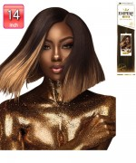 Sensationnel  100% Human Hair Weaves - EMPIRE GOLD YAKI 14""