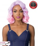 It's a wig Synthetic  Lace Front Wig - SWISS LACE KASO