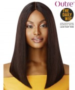 Outre 100% Human Hair - The Daily Wig - STRAIGHT BLUNT CUT BOB 16""