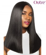 Outre Synthetic  Swiss I Part Lace Front Wig - JUNO