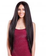 Diana Bohemian Free Part Human Blend Hair Lace Front Wig - HBW OLIVA GIRL