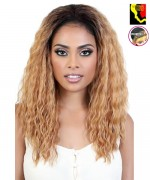Motown Tress Synthetic Let's Lace Front Wig - L. DEO